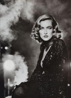 Supermodel Tatjana Patitz by Max Vadukul for Vogue UK, 1992