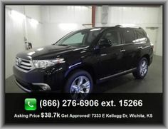 2013 Toyota Highlander Limited SUV   Audio Controls On Steering Wheel, Stability Control, Intermittent Window Wipers, Overhead Console - Mini With Storage, Tilt And Telescopic Steering Wheel, 4 Doors,