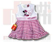 Dievčenské šaty Minnie pre malé slečny a dievčatá .. ;)