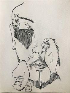 sketch by ALIN RIHOR