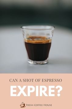 I think it's important to establish what we mean when we say 'expired espresso' before going any further. When we're talking about the caffeine content or potency of a shot, then no espresso doesn't expire. On the other hand, if we are referring to the taste and body of a shot of espresso, then we need to explore what time does to our shot and decide if that truly means the espresso has 'expired'. #coffee #coffeeblog #espresso #expired Coffee Talk, Coffee Break, Coffee Container, Coffee Facts, Coffee Blog, Espresso Shot, Fresh Coffee, Cold Meals, Coffee Roasting