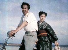 Ueda Shouji 植田正治(1913-2000)  Me and my wife - 1949