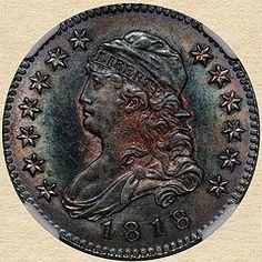1818/5 Capped Bust Quarter