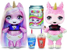 New Poopsie Surprise Animals Suggest Glitter Unicorn and Lamb Dolls Top Toys For Girls, Little Girl Toys, Unicorn Balloon, Unicorn And Glitter, Unicorn Surprise, Cute Lamb, Slime Kit, Unicorn Doll, Rainbow Magic