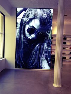 3x4 Samsung Videowall - St Laurent Soho - Installation by KRITON Electronics Inc