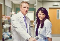 """""""Callie and Owen are striking up their friendship,"""" Kevin McKidd, at left with Sara Ramirez, says of Owen's doings in the 200th episode. """"They've always had a friendship off and on, and they've always had an unfettered respect for each other."""""""