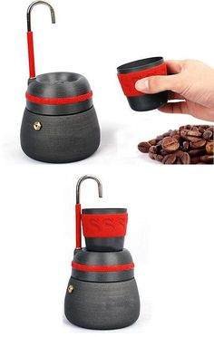 Camping Kettles 181384: Alocs Outdoor Coffee Pot Camping Coffee Maker Picnic Coffee Machine Cafe Kettle BUY IT NOW ONLY: $46.0