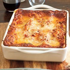 Vanessa's Make-Ahead Beefy Lasagna - Quick Holiday Dinner Recipe Ideas - Southern Living