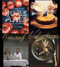 """Unsere neuen Rezensionen mit Originalrezepte    """"Home Made"""" gehört mein Herz. Mit dabei ist das weltbeste Orangen-Kuchen-Rezept. Ich bin mir ganz sicher.    Alles und mehr auf http://www.valentinas-kochbuch.de/"""