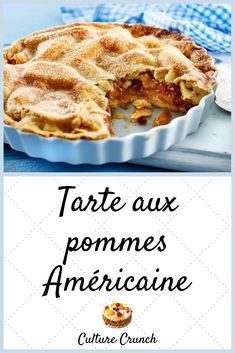 Delicious Desserts, Dessert Recipes, French Food, Apple Pie, Biscuits, Deserts, Food Porn, Waffles, Homemade