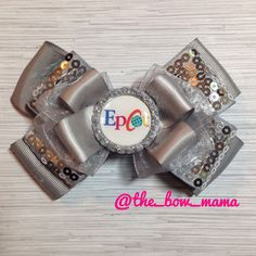 Disney World Epcot inspired hair bow on your choice by TheBowMama