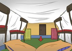 How to Make a Blanket Fort: 15 Steps (with Pictures) - wikiHow