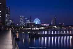That magic blue hour at Sakuragicho