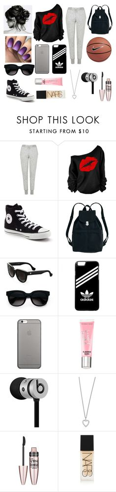 """""""Untitled #238"""" by issabella123-274 ❤ liked on Polyvore featuring Topshop, Converse, BAGGU, Balenciaga, adidas, Native Union, Beauty Rush, NIKE, Beats by Dr. Dre and Yves Saint Laurent"""