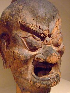 Ni-O Buddhist Gate Guardians Muromachi period 1392-1573 CE Japan (2)