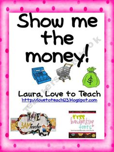 Show me the Money Unit product from Love-to-Teach on TeachersNotebook.com