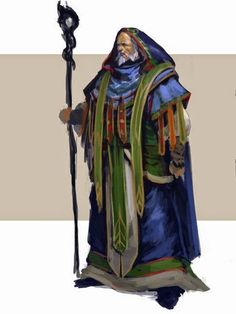 The Blue Wizard Pallando (also called Rómestámo,) was chosen by Alatar to accompany him as a friend to Middle-earth.