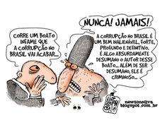 A Corrupção no Brasil vai acabar...