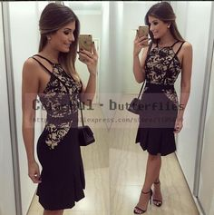 New Vestidos Women Summer Dress 2015 O-Neck Sleeveless Vestido de festa Fashion Casual Backless Lace Black Dress