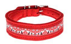Unser Halsband Waldi mit der auffallenden roten Borte steht jedem fröhlichen Hund – egal ob kurz- oder langbeinig. Erhältlich in den Filzfarben rot, braun, beige oder grau. Breite: ca. 3 cm