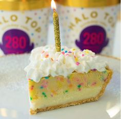This Halo Top Pie Will Make You Wish Every Day Was Your Birthday Ice CreamIce