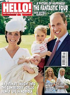 Magazine issue New royal album: A picture of happiness, the fantastic four An intimate insight into th. Prince George Alexander Louis, Prince William And Catherine, William Kate, Duchess Kate, Duchess Of Cambridge, Twin Baby Boys, Hello Magazine, Princesa Kate, Baby Prince