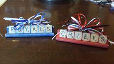 Scrabble Tile Kansas City Ornaments
