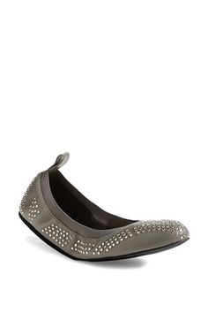 See by Chloé Studded Leather Ballet Flat (Nordstrom Exclusive) (Women) | Nordstrom