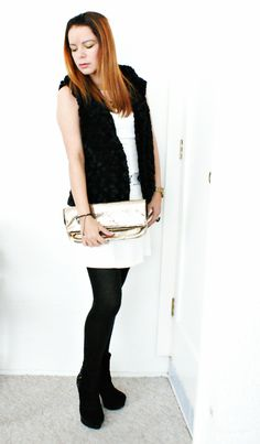 Black and White Outfit. Read full post here for brands on what I'm wearing: http://wp.me/p1Ti7x-xg
