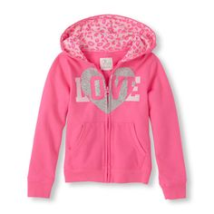 Long Sleeve Graphic Zip-Up Hoodie   The Children's Place CA
