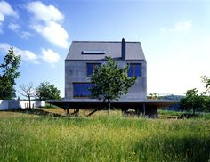 Casa Rudin| Leymen, Haut-Rhin, France | Herzog & de Meuron | photo by Margherita Spiluttini Architecture Design, Sweet Home, Shed, Outdoor Structures, France, House Styles, Building, Inspiration, Home Decor