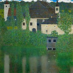 Gustav Klimt「Schloss Kammer on the Attersee」
