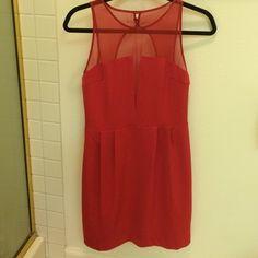 Red Aryn K dress Brand new with tags! Aryn K Dresses
