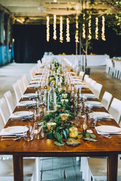 planning + design: b merry events   photography: Cambria Grace    venue: 58 Fore St, The Portland Company   floral design: Belladonna Floral   lighting: The Event Light Pros