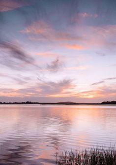 Marsh sunset in Sava