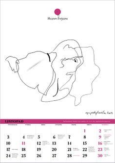 Listopad: Aga Pietrzykowska / Pocałunek / 2013 #ero2014 Kalendarz Muzeum Erotyzmu 2014/15. Format A3, nakład 100 sztuk, cena 50 zł + koszt przesyłki. Zamówienia tylko do 5 XII 2013: muzeumerotyzmu@gmail.com Wysyłka 6-9 grudnia 2013. #erotyka #eroticart #eroticism #erotyzm