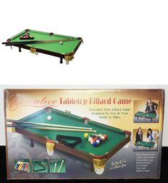 Awesome Tables 21213: 55 Miniature Tabletop Pool Table Legs Billiard Mini Compact  Game Sport Device  U003e BUY IT NOW ONLY: $107.99 On EBay!