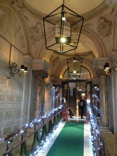 Christmas entrance to the Praktik Rambla Hotel!