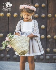 Baby Dress Pattern Wedding 59 Ideas For 2019 Cute Girl Outfits, Kids Outfits, Wedding Dress Patterns, Wedding Dresses, Girls Dresses, Flower Girl Dresses, Fancy Hats, Vestidos Vintage, Little Fashionista