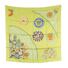"""Hermes Silk Scarf """"music for tomorrow""""(Authentic Pre Owned) #Hermes #Scarf"""