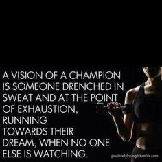 Run towards your dream