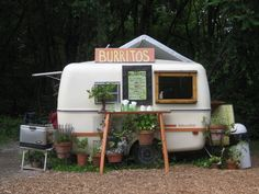 Burrito's stand of our dreams #Burritos, #Caravan, #Foodtruck