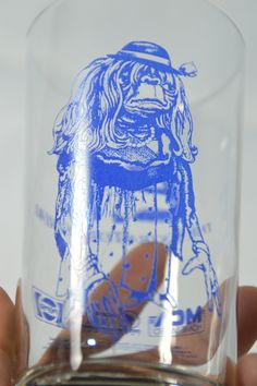 Vintage E.T. The Extra Terrestrial Glass Tumbler