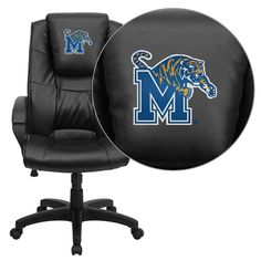 Memphis Tigers Executive Leather Chair