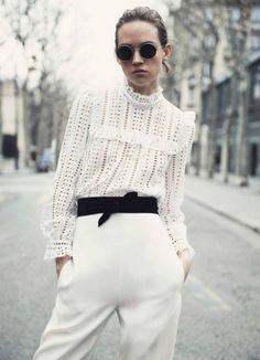 Vogue Paris April 2016 Adrienne Juliger by Claudia Knoepfel