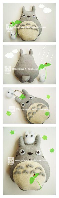 Totoro en feutrine