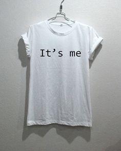 It's Me TShirt Text Unisex Tshirt by Se7enCity on Etsy, $16.00