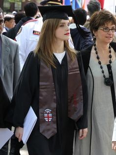 Emma Watson, Graduate from Brown University in 2014