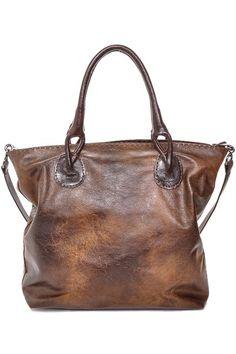Carla Mancini Vintage Leather Shopper Tote on HauteLook Passion For Fashion, Love Fashion, Shopper Tote, Casual Chic Style, Vintage Leather, Classic Leather, Handmade Leather, Brown Leather, Up Girl