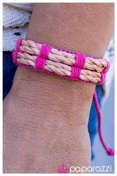 $5 Jewelry Paparazzi by Cheri Gilmore contact me today to buy or sell 636-524-9052 Paparazziaccessories.com/21872 cherianngilmore@g... facebook.com/paparazziaccessoriesbycherigilmore paparazzi accessories jewelry bracelet bracelets pink rope hippie bead beads beaded